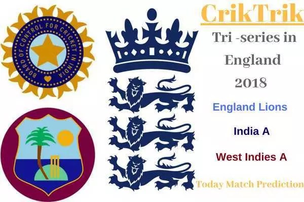 india A & windies A in England 2018