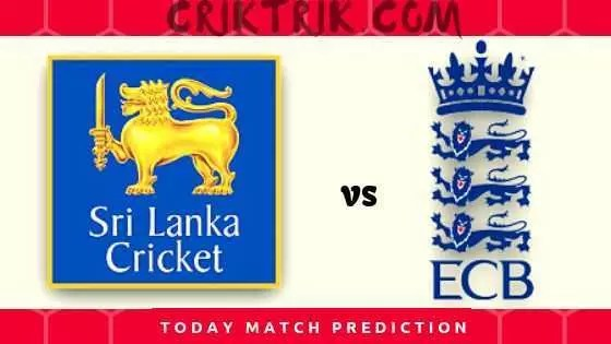 eng tour of sl - today match prediction