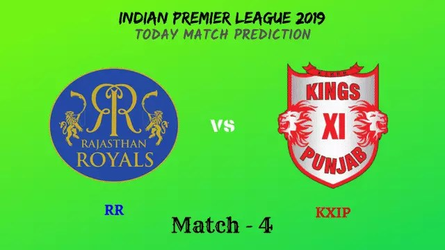 RR vs KXIP - IPL 2019 match prediction tips