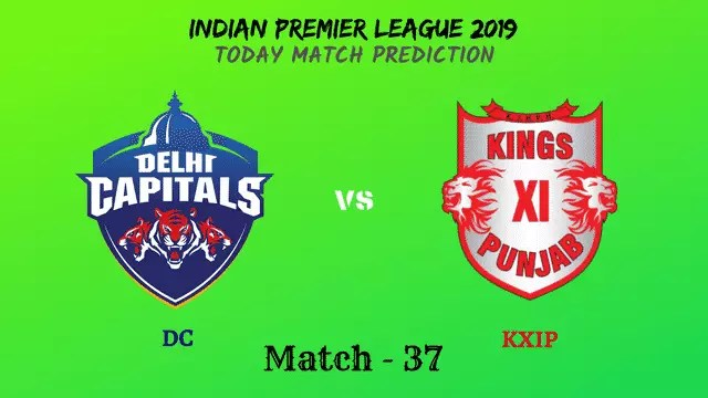 DC vs KXIP - Match 37 - IPL 2019 match prediction tips