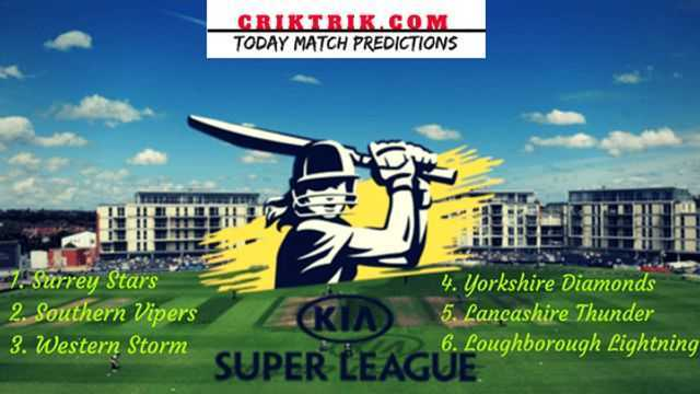 Womens Cricket Super League 2019 criktrik - SST vs WS, 27th T20 - Today Match Prediction & Betting Tips | WCSL 2019
