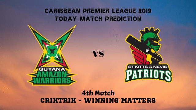GAW vs SNP, 4th T20 - Today Match Prediction, CPL 2019