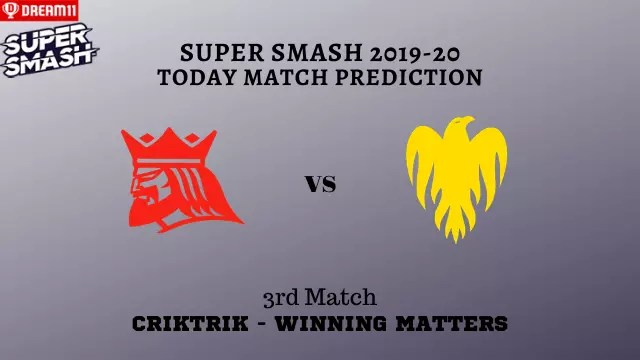 can vs wel 3rd t20 prediction - CAN vs WEL Today Match Prediction - 3rd T20, Super Smash 2019-20