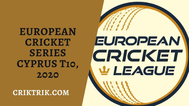 Cyprus T10 European Cricket Series 2020