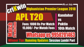 Kandahar Knights vs Paktia Panthers, 10th Match