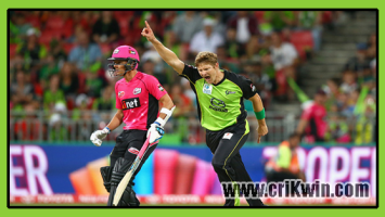 Who Win Today BBL 2018-19 8th Match Sixer vs Thunder