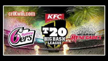 Who Win Today BBL 2018-19 12th Match Sixer vs Renegades