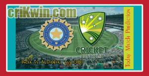 Aus vs India 1st ODI Today Match Prediction