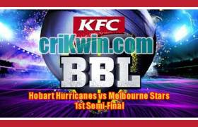 Hobart vs Star BBL T20 Semifinal Today Match Prediction Tips