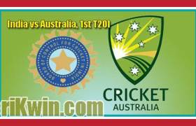 IND vs AUS 1st T20 Today Match Prediction Tips – Toss – 100% Sure