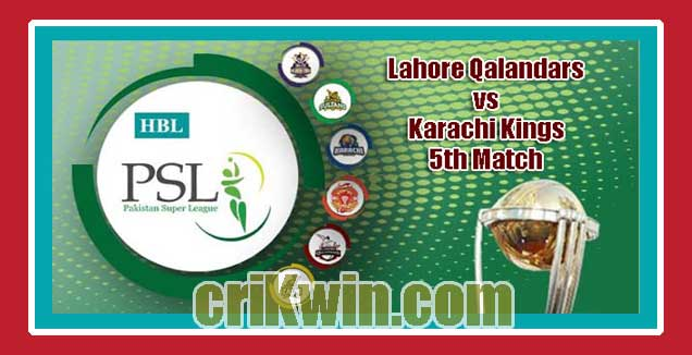 Lahore vs Karachi PSL 2019 Today 5th T20 Match Prediction Tips