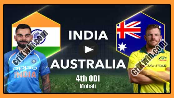 India vs Australia 4th ODI 2019 Today Match Prediction - 100% Sure
