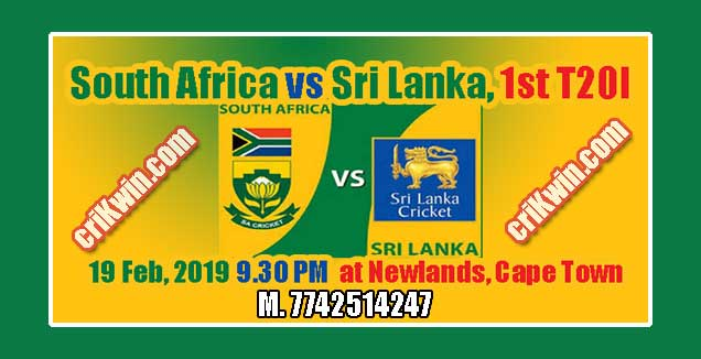 South Africa vs Sri Lanka 1st T20 Today Match Prediction