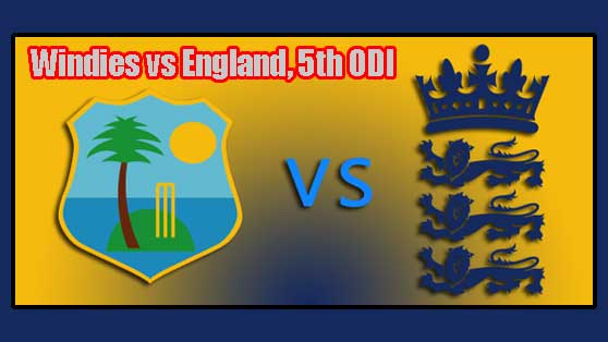 WI vs Eng 5th ODI Prediction