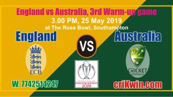 Cricket Match Prediction 100% Sure Aus vs Eng CWC World Cup 2019