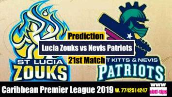 CPL 2019 Cricket Betting Tips SLZ vs SKNP 21st Match Who will win today's Sure Reports Toss Session Lambi Pari