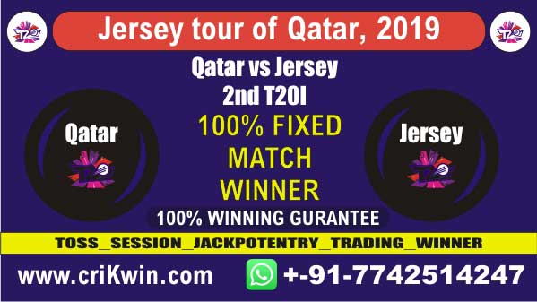 QAT vs JER 2nd T20 Today Prediction Match Who Will Win