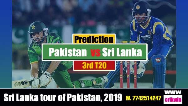 3rd T20 Prediction 100% sure Today Who will win Astrology Match SL vs Pak Cricket True Astrolgy Winner Tips Toss Reports SL vs Pak