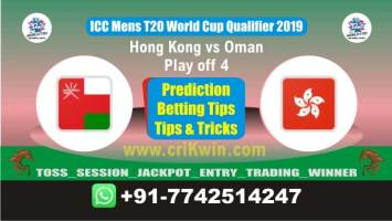 WC T20 Qualifier 100% Sure Today Match Prediction winning chance of OMN vs HK Play off Cricket True Astrology Winner Toss Tips Who will win today