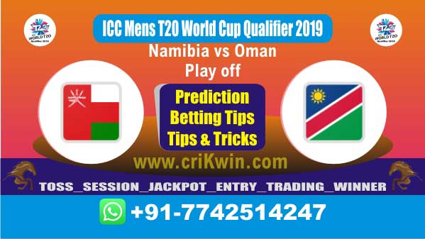 WC T20 Qualifier 100% Sure Today Match Prediction winning chance of OMN vs NAM Play off Cricket True Astrology Winner Toss Tips Who will win today