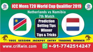 ICC T20 Qualifier Today Match Prediction NAM vs NED 7th T20 Match Who Will Win
