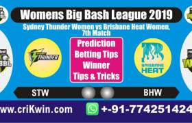 WBBL 2019 100% Sure Today Match Prediction BRHW vs SYTW 7th Match Cricket True Astrology Winner Tips Toss Reports BHW vs STW Who will win today