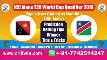 ICC T20 Qualifier Nam vs Png 10th T20 Match Who will win today NAM vs PNG Cricket Match Prediction 100% Sure
