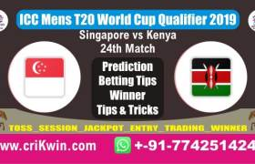 WC T20 Qualifier 100% Sure Today Match Prediction winning chance of SIN vs OMN 24th Cricket True Astrology Winner Toss Tips Who will win today