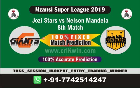 MSL 2019 Today Match Prediction NMG vs JOZ 8th Match Who Will Win