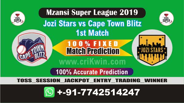 MSL T20 2019 Today Match Prediction CTB vs JOZ 1st Match Who Win