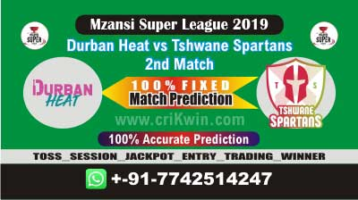 MSL T20 2019 TST vs DUR 2nd Today Match Prediction Who Will Win