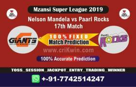 MSL T20 2019 Today Match Prediction PR vs NMG 17th, Who Will Win