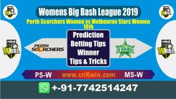 WBBL 2019 Today Match Prediction MS-W vs PS-W 18th Match Will Win