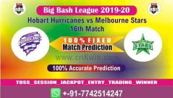 BBL T20 2020 Today Match Prediction HOB vs MLS 16th 100% Sure Win