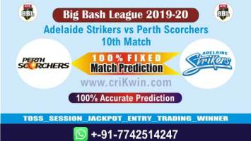 BBL T20 2020 Today Match Prediction SCO vs STR 10th 100% Sure Win