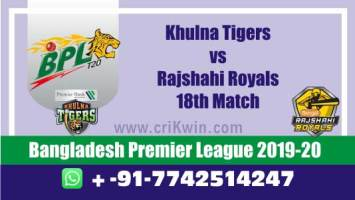 BPL 2019-20 Today Match Prediction RAJ vs KHU 18th 100% Sure Win
