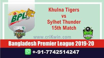 BPL 2019-20 Today Match Prediction SYL vs KHT 15th 100% Sure Win