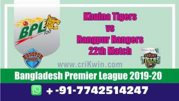 BPL 2020 Today Match Prediction RAN vs KHT 22nd 100% Sure Win