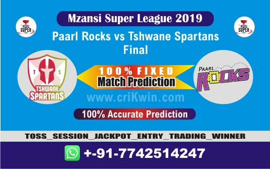 MSL 2019 Final Today Match Prediction TST vs PR Final 100% Sure Win