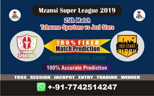 MSL 2019 Today Match Prediction JOZ vs TST 25th Who Will Win toss