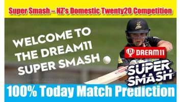Super Smash T20 Match Prediction AUK vs CTB 5th 100% Sure Win