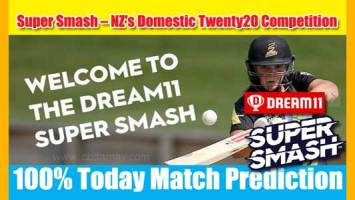 Super Smash Today Match Prediction CD vs NK 8th 100% Sure Win