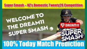 Super Smash Today Match Prediction CTB vs CD 11th 100 Sure Win