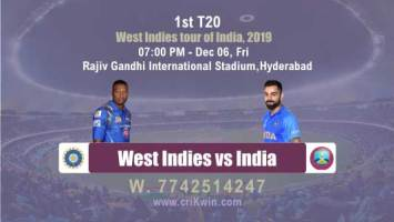 T20 Prediction WI vs Ind 1st Who Will Win Today Match Prediction