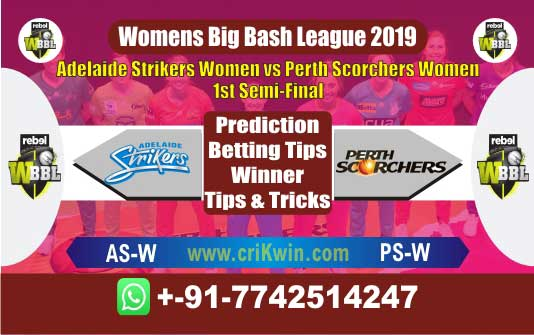 WBBL 2019 Today Match Prediction PSW vs ASW Semi Final Who Win