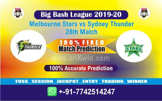 BBL T20 Today Match Prediction SYT vs MLS 28th 100% Sure Win Tips