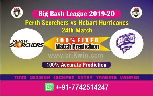 BBL 2020 Today Match Prediction HOB vs PRS 24th 100% Sure Win