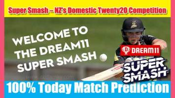 Super Smash 20 Today Match Prediction NK vs WEL 20th 100% Sure Win