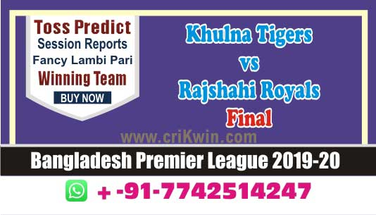 Final Match RAR vs KHT cricket win tips