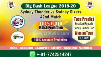 SYT vs SYS cricket win tips